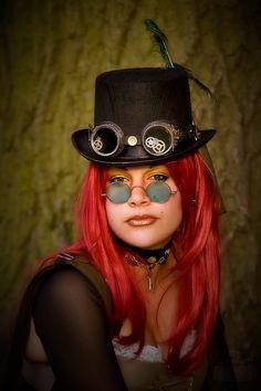 Steampunk Girl V de CarpeDiemJenStyle