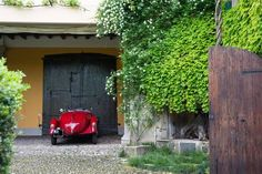 1935 FIAT Balilla 508 S Coppa D'Oro Fiat, Shed, Engineering, Garage, Outdoor Structures, Classic, Gold, Carport Garage, Derby