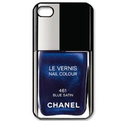 Chanel Le Vernis Nail Colour in Blue Satin Navy Nail Polish, Navy Nails, Chanel Nail Polish, Chanel Nails, Nail Polish Colors, Swatch, Nail Polish Bottles, Blue Crush, Jewel Colors