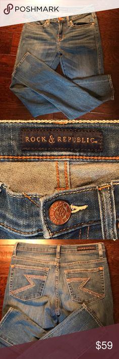 07e4a2f8004c Rock   Republic Jeans Rock   Republic Jeans Skinny leg size 6 Rock   Republic  Jeans Skinny