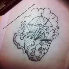 storm/tempest in a teacup…