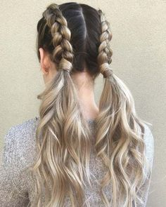 Top 60 All the Rage Looks with Long Box Braids - Hairstyles Trends Easy Summer Hairstyles, Cute Braided Hairstyles, Box Braids Hairstyles, Straight Hairstyles, Black Hairstyles, Formal Hairstyles, Hairstyles Games, Boy Haircuts, Cute Girls Hairstyles