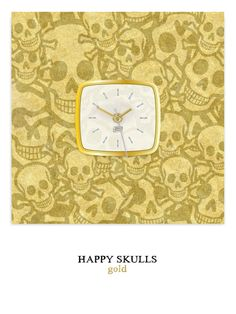 Happy Skulls gold