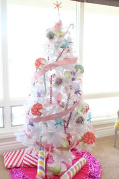 kandeej.com: My Candyland Holiday House Tour & yes this is my favorite Christmas Tree of all time! ha ha ha
