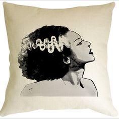 Bride of Frankenstein Pillow