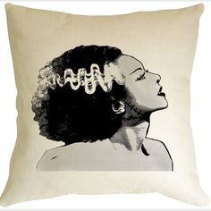 Bride of Frankenstein Pillow
