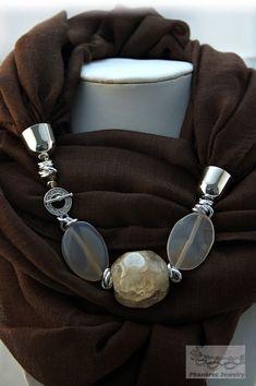 Phanères  foulard gioiello