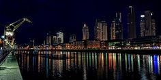 puerto-madero-de-noche Buenos Aires