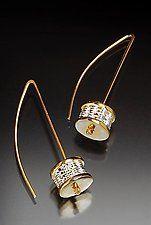 Gold & Silver Earrings by Linda Bernasconi