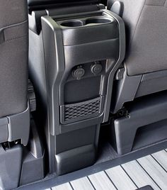 Yes but it would have to be removable. Vw T5 Camper, Vw Transporter Camper, Vw Caravelle, Vw T5 Interior, Campervan Interior, Ford Excursion, T6 Bus, Vw California Beach, Car Console