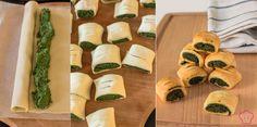 Salatini di Pasta Sfoglia Ricotta e Spinaci