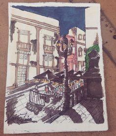 Guanajuato, México  #sketch #urbansketch #illustration