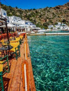 Loutro village, Crete -