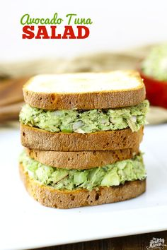 Avocado Tuna Salad | 23 Cool Things To Do With Canned Tuna