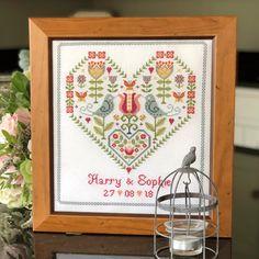 Historical Sampler Tapestry Kit Mr /& Mrs
