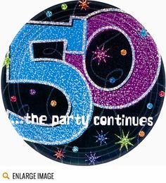 The Party Continues 50th Birthday Theme - Decorations & Supplies