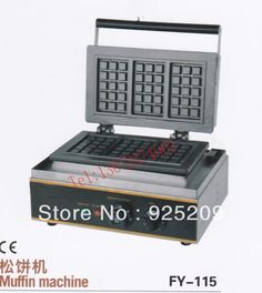 250.00$  Watch here - http://alixj6.worldwells.pw/go.php?t=1231490897 - Free shipping 110v 220v 3 pcs Electric waffle maker Square Waffle Machine