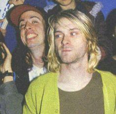Dave and Kurt Nirvana