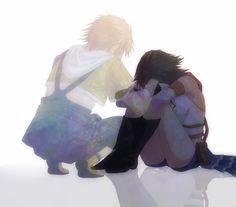 Tidus & Yuna | Final Fantasy X-2 「悲しむことなんて」/「有明ありあ」のイラスト [pixiv] #game…