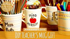 Back-to-School Teacher's Mug Gift - HGTV Handmade