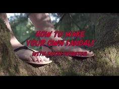 87353f0d1ec (6) How to Make Your Own Sandals with Jason Hovatter! Full instructional  video