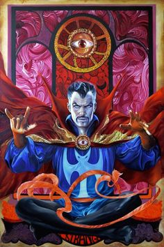"bear1na: "" Doctor Strange by Fred Ian * """