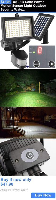 farm and garden: 80 Led Solar Power Motion Sensor Light Outdoor Security Waterproof Garden Lamp BUY IT NOW ONLY: $47.98