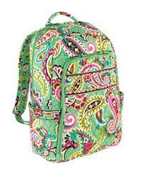 Vera Bradley Backpacks are cute backpacks for school for girls! They come in tons of patterns and styles! Vera Bradley Laptop Backpack, Laptop Bag, Cute Backpacks For School, Lunch Tote, Tutti Frutti, Cute Bags, Purses And Bags, Lv Bags, Little Girls