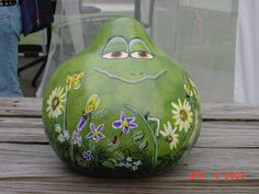Painted Gourds Ideas | Breast Cancer Topic: Crafts after BC is good for the soul