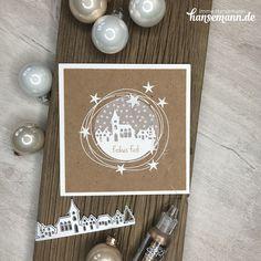 ★ Winterdorf Karte - meine Lieblingskarte!