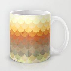 Half Circles Waves Color Mug by Danny Ivan - $15.00