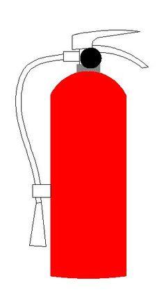 Extintor de Incêndio - Segurança — Bloco Autocad