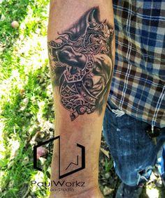Tattoopedia: The ongoing Warrior Sleeve