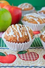 Apple Cinnamon Streusel Muffins | Dulce Dough Recipes