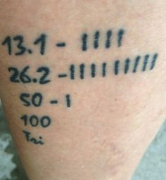 41 Awesome Running-Inspired Tattoos | Runner's World, tattoo #19