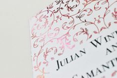 @cre8iveleighCOM posted to Instagram: Close-up of one of our summer theme wedding invitation in white and rose gold foil. Personalised with your details.visit www.cre8iveleigh.com for more information #invitation #invitations #weddinginvitation #weddingcard #weddinginvitations #weddingstationery #weddingplanning #weddingideas #weddingseason #weddinginspiration #personalised #designerwedding #personalisedcards#perfectwedding Wedding Stationery, Wedding Invitations, Rose Gold Foil, Wedding Season, Wedding Designs, Weddingideas, Wedding Cards, Close Up, Wedding Planning