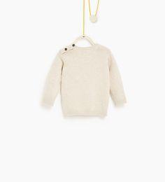 ZARA - KIDS - Sweater with pocket appliqué