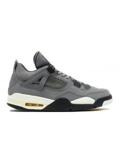 Air Jordan 4 Retro Cool Grey Cool Grey Dark Charcoal Varsity Maize 308497  001 dab5f90b4c36