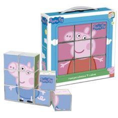 Cefa Toys 88233 - Peppa Pig rompecabezas, 9 cubos  9'90€