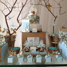 Party Search: Baptism - Page 4 Baptism Party Decorations, Baptism Centerpieces, Dedication Ideas, Baby Dedication, Baby Boy Baptism, Boy Christening, Baby Girl Shower Themes, Baby Boy Shower, Baptism Cards