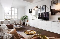 Delicious Stockholm apartment in an old chocolate factory - Daily Dream Decor