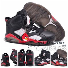 "f7e277c1db5 Discover the Air Jordans 6 Retro Custom ""Angry Birds"" Black-White Red  Specked For Sale Online Cheap To Buy group at Pumarihanna."