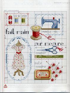 Швейная тема: схемы для вышивания