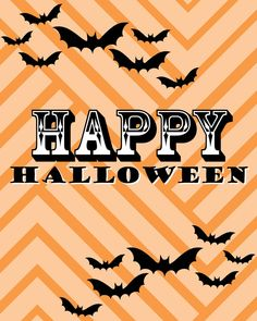 {FREE} Halloween Printables | The Blissful Bee