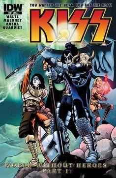Preview: Kiss #3 (IDW)