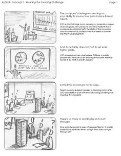 Storyboards by Chad J. Shaffer, via Behance