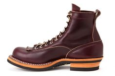 "White's Boots Smoke Jumper 6"" LTT Burgundy"