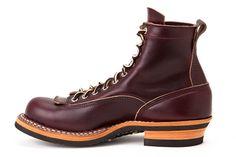"White's Boots Smoke Jumper 6"" LTT Burgundy"