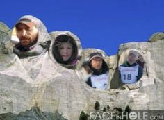 Study and learn about the Iditarod mushers, and then create your own Mount Rushmore showing who you feel deserves to be there!