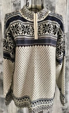 Caamano Ltd Edition 100% Alpaca Pullover Sweater Top Fair Isle Zipper Mens Small #Caamano #Pullover